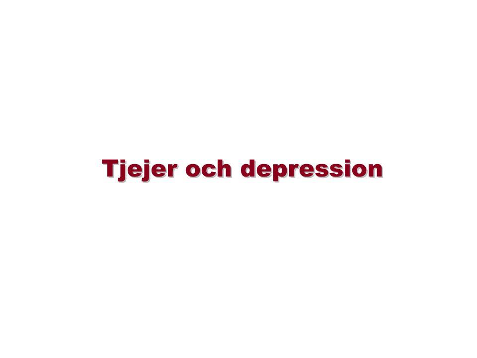 Tjejer och depression