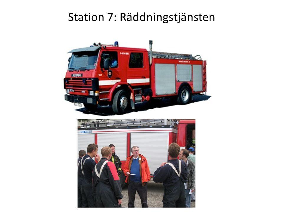 Station 7: Räddningstjänsten