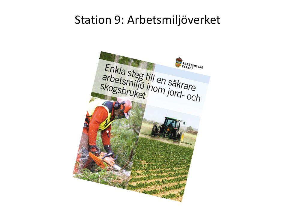 Station 9: Arbetsmiljöverket