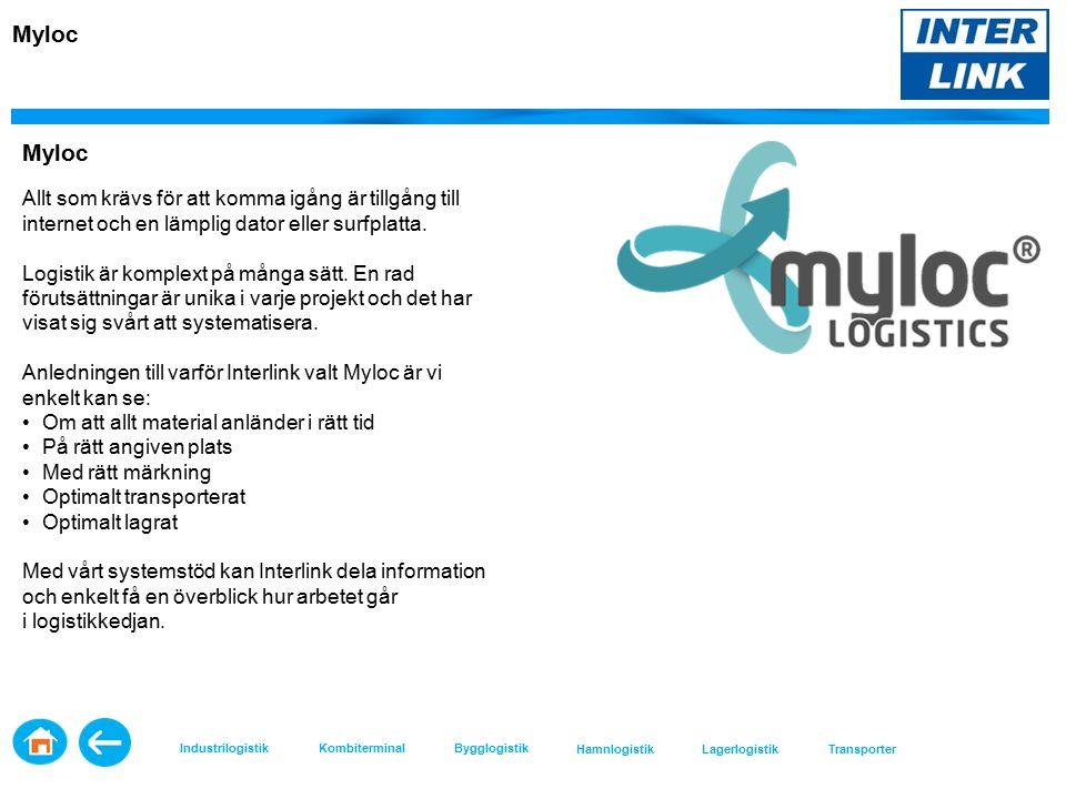 Myloc Allt som krävs för att komma igång är tillgång till internet och en lämplig dator eller surfplatta.