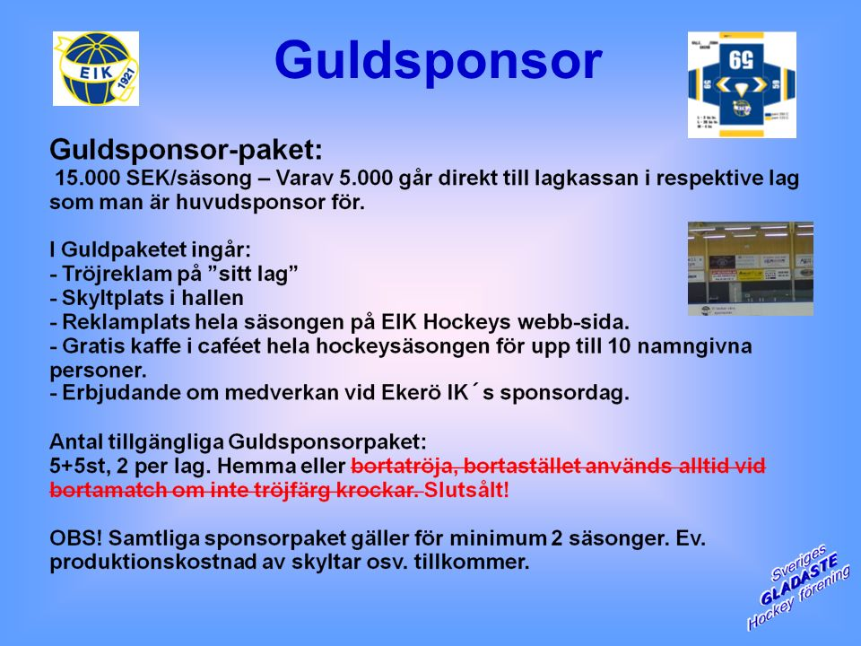 Guldsponsor