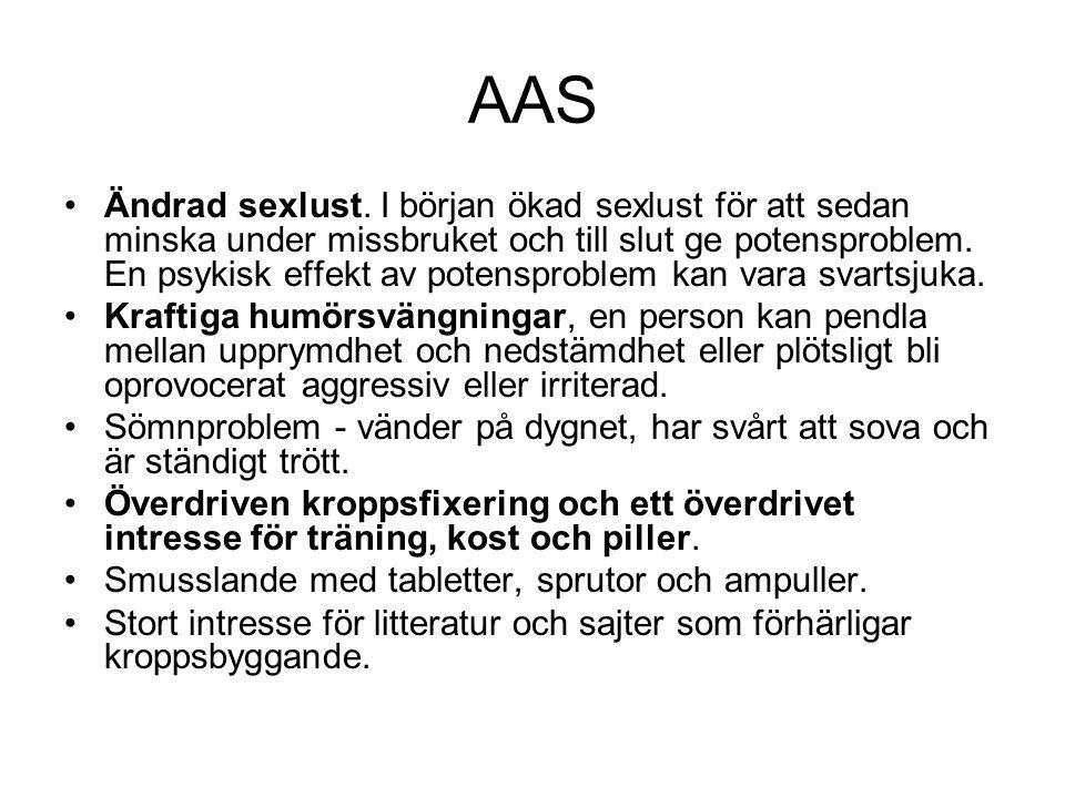 AAS Ändrad sexlust.