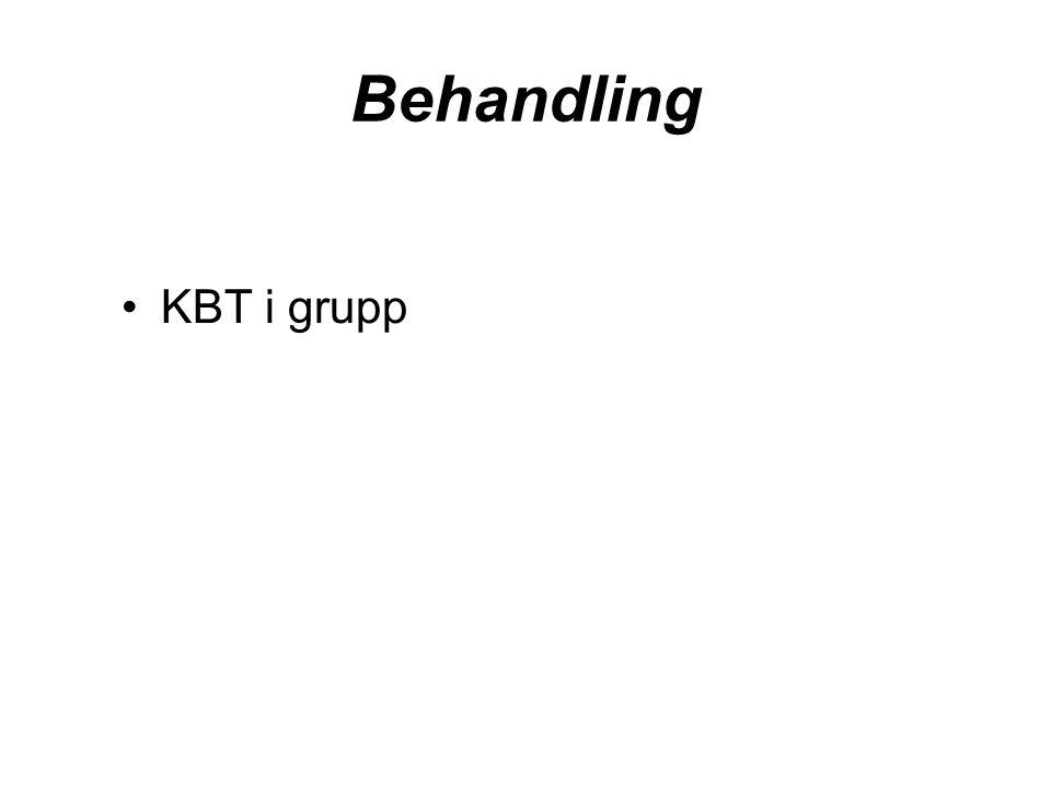 Behandling KBT i grupp