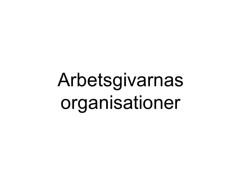 Arbetsgivarnas organisationer