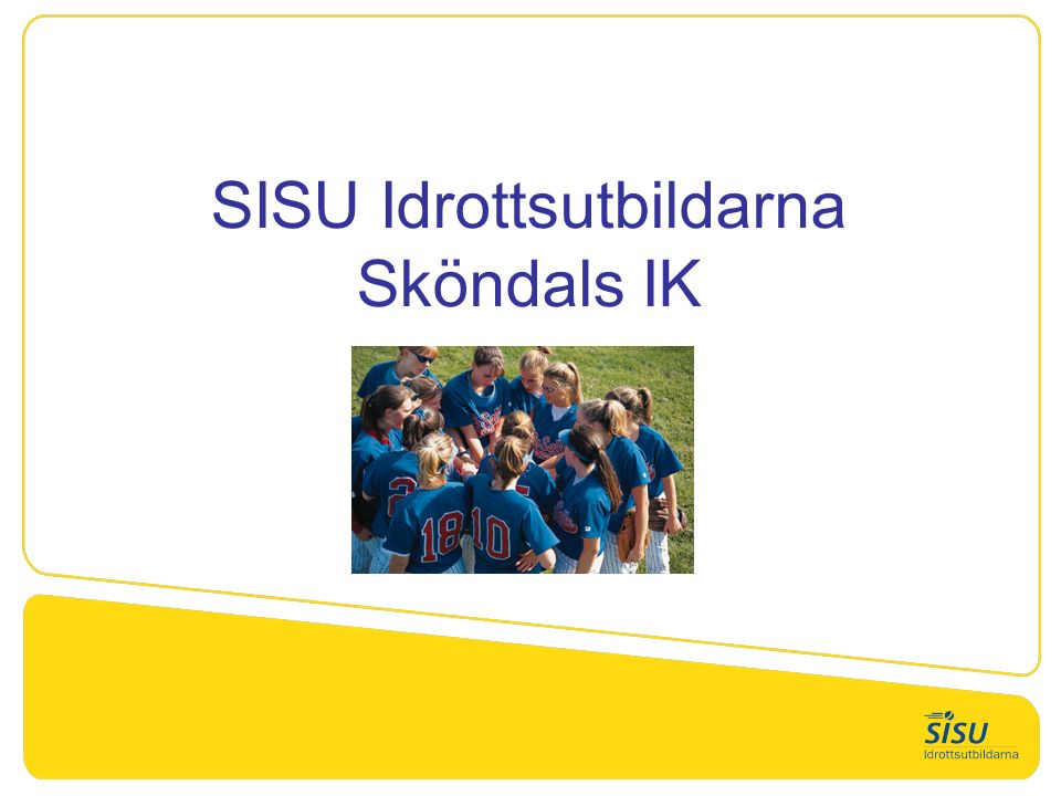 SISU Idrottsutbildarna Sköndals IK