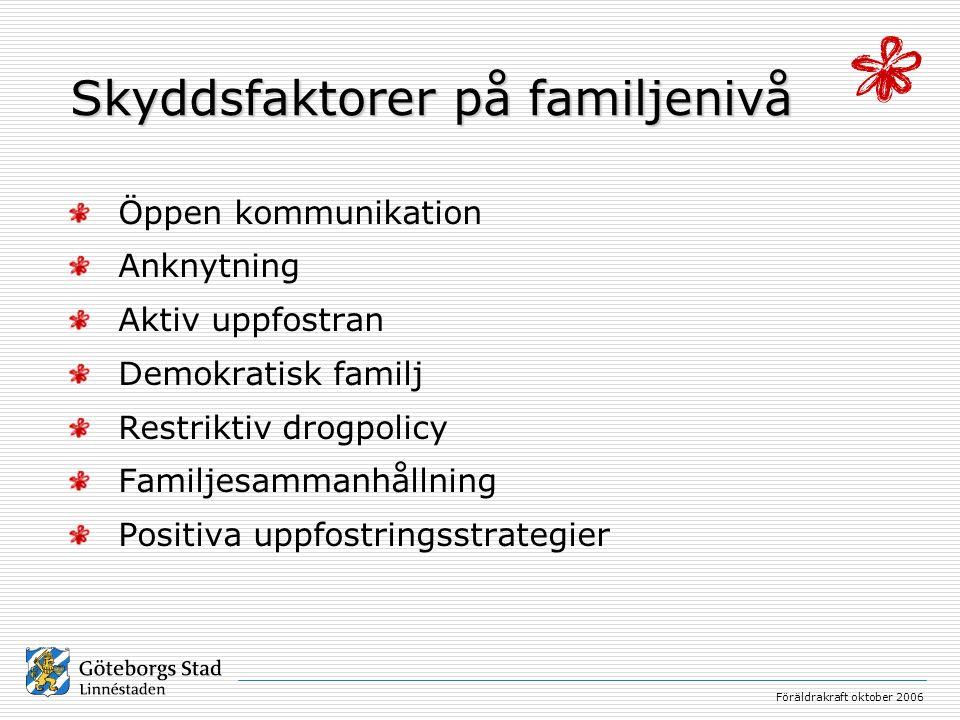 Föräldrakraft oktober 2006 Familjeprogrammen har en teoretisk grund som består av kognitiv psykologi och social inlärningsteori