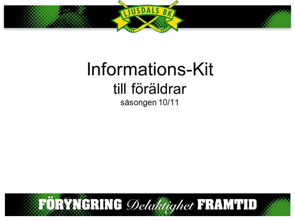 Informations-Kit till föräldrar säsongen 10/11