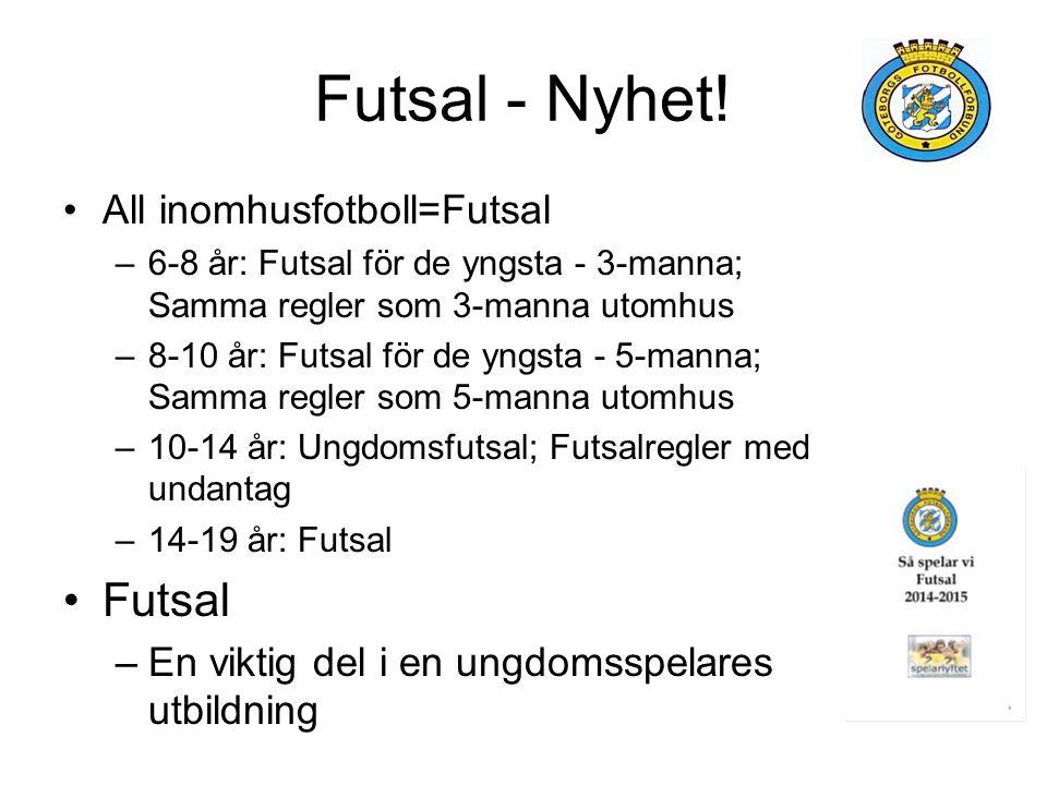 Futsal - Nyhet.