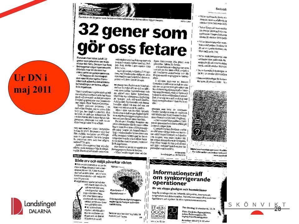 Anette Örn Liberg, Kicki Kyhle Matdagar okt 2015 Kicki Kyhle, Marcus Lagerström oktober 2011 28 Ur DN i maj 2011 28
