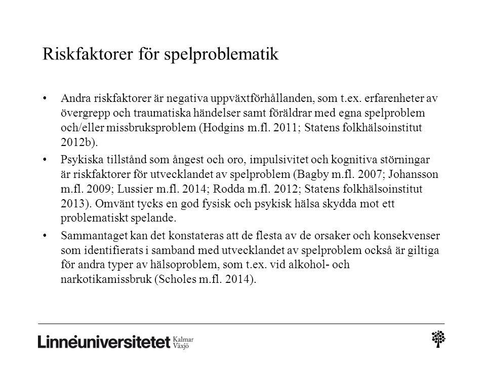 Projektets syfte … ett pilotprojekt inom socialtjänsten i Göteborg där en s.k.