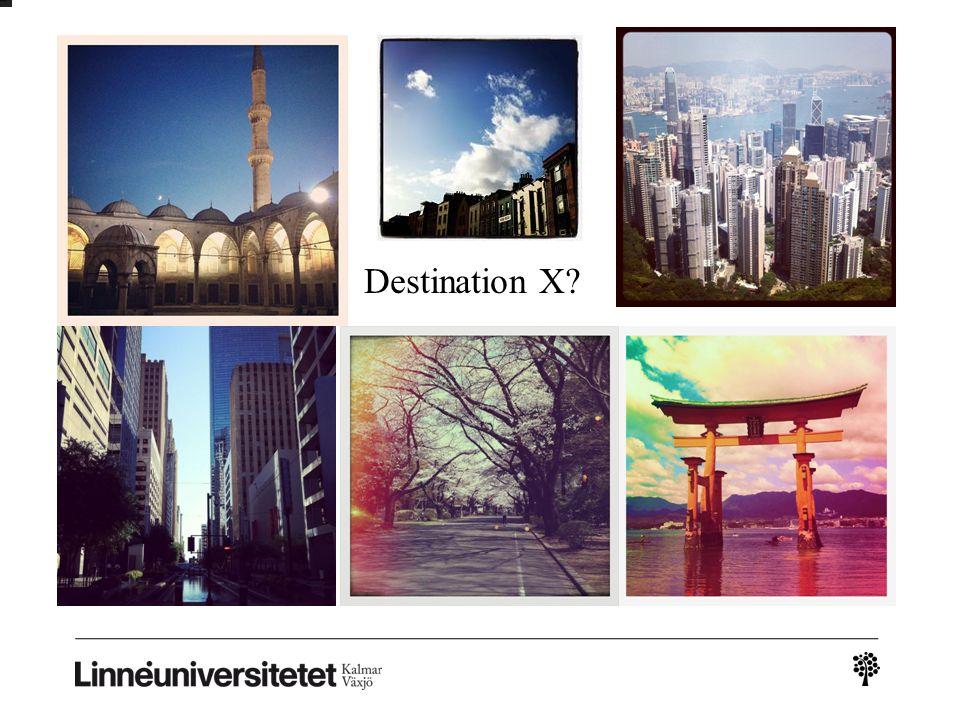 Destination X?
