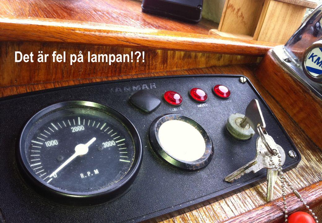 NEKK | Etapp 4 | Roller förvaltning och utveckling BUPA | 2012-02-08 | 20 Det är fel på lampan!?!