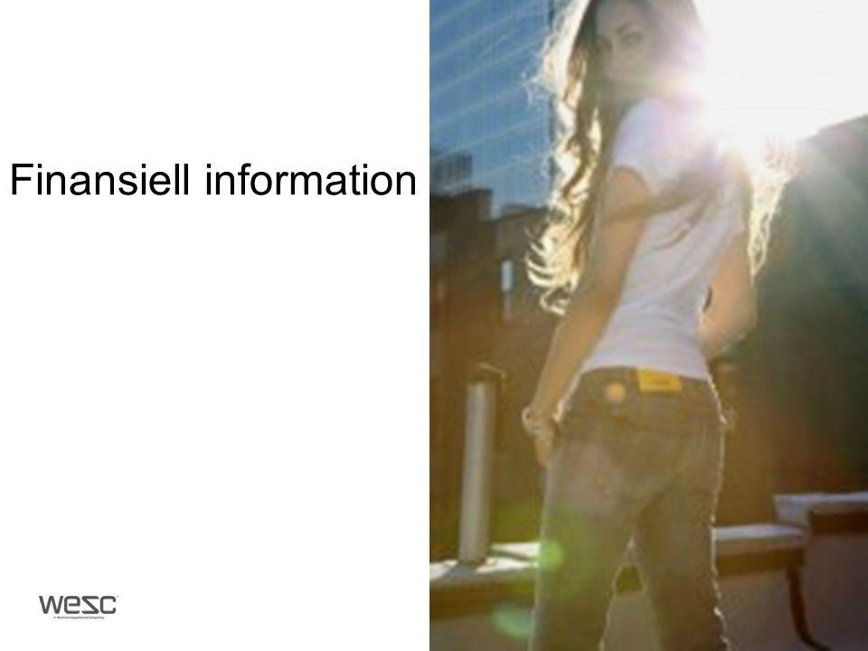 Finansiell information