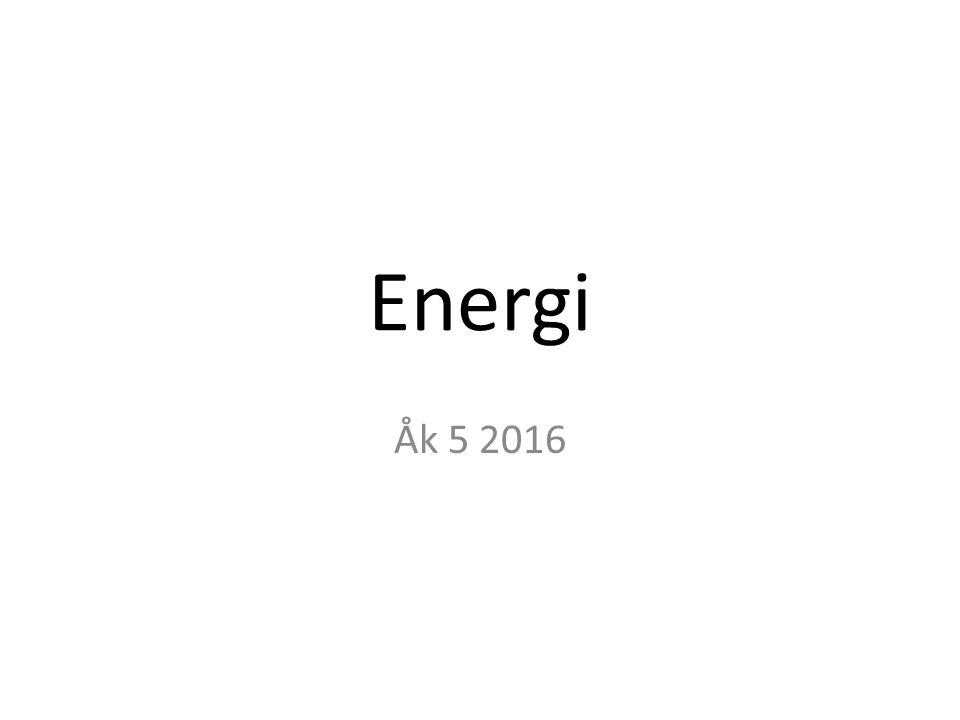 Vad är energi.Energi Allt som lever behöver energi för att leva och växa.