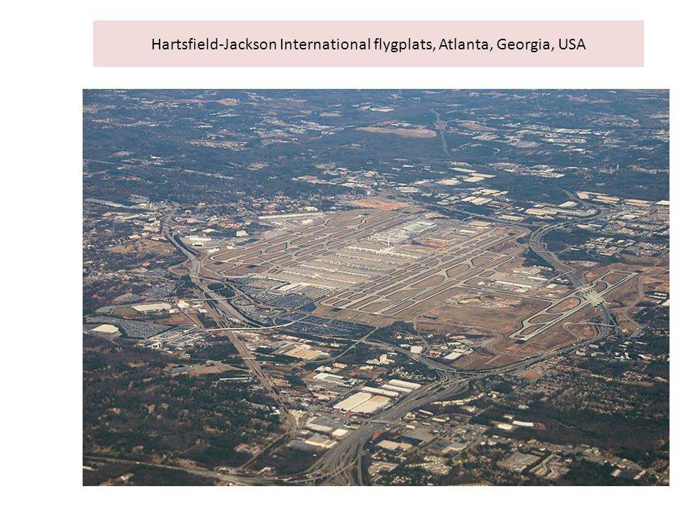 Hartsfield-Jackson International flygplats, Atlanta, Georgia, USA