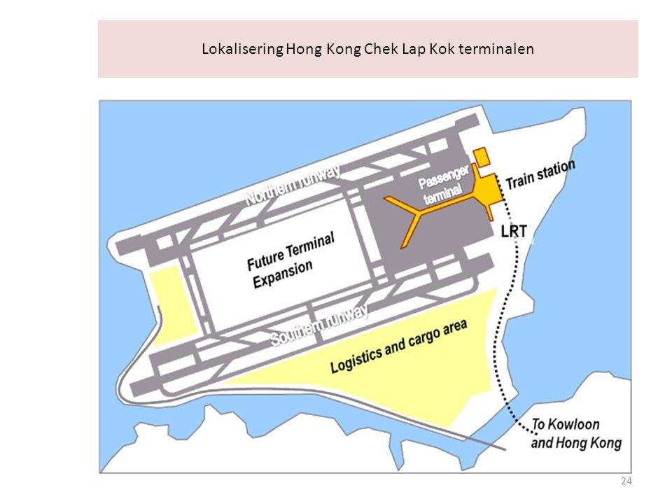Lokalisering Hong Kong Chek Lap Kok terminalen 24