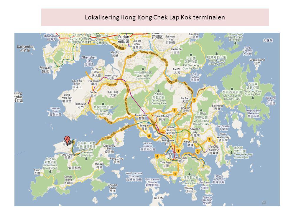 Lokalisering Hong Kong Chek Lap Kok terminalen 25