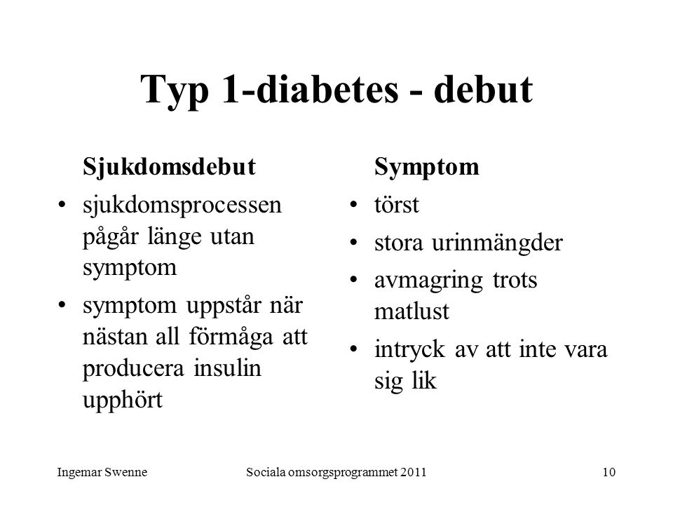 tecken på diabetes typ 2