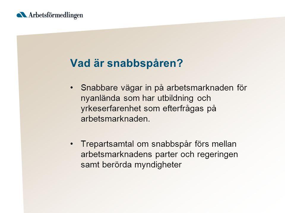 Trepartssamtal om snabbspår Hotell och Restaurang- HRF och Visita.