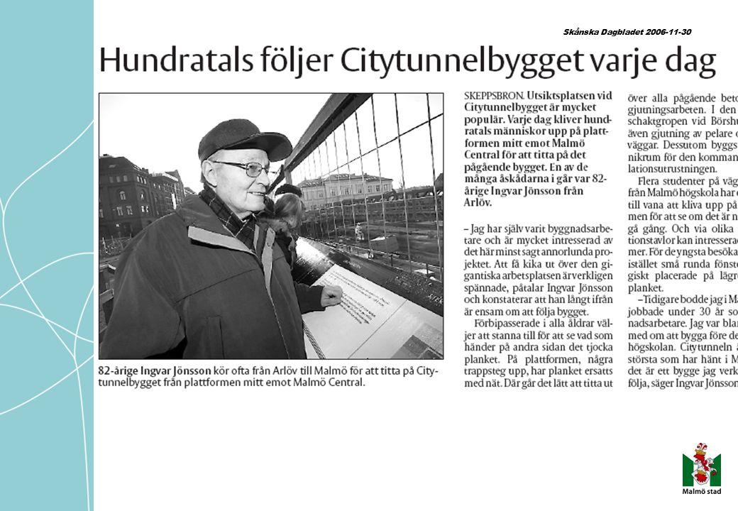 Skånska Dagbladet 2006-11-30