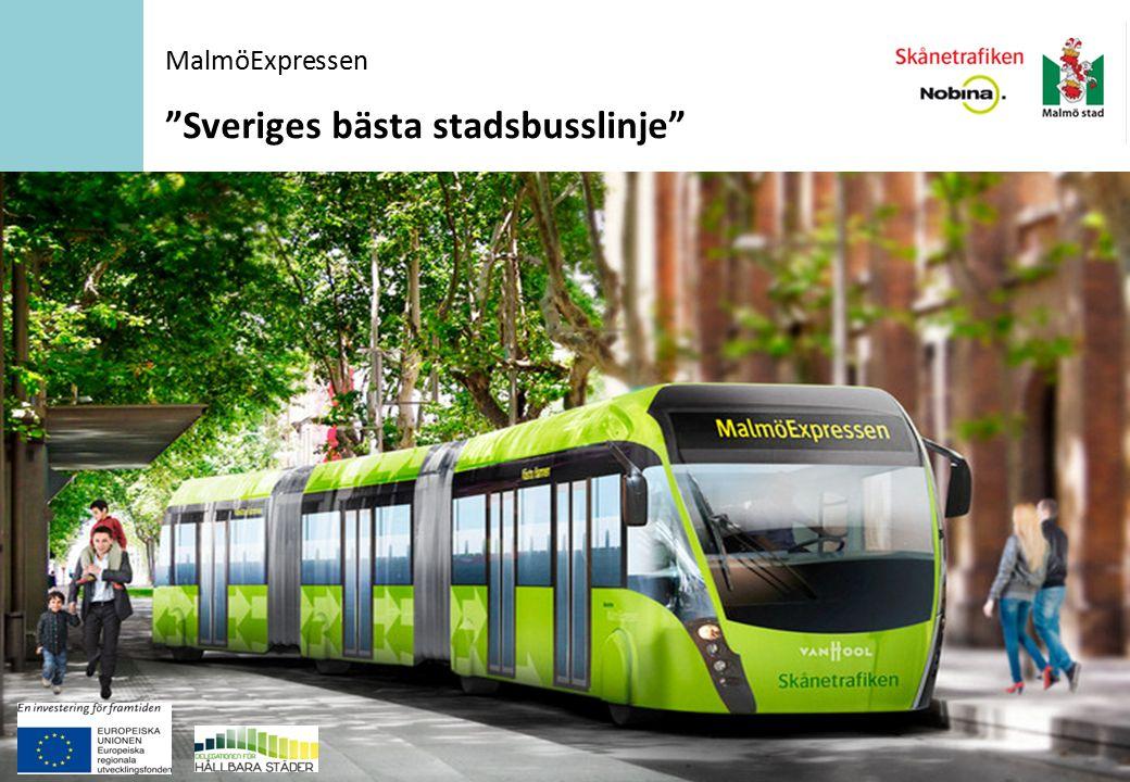 Sveriges bästa stadsbusslinje MalmöExpressen