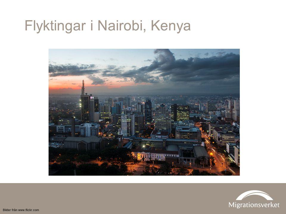 Flyktingar i Nairobi, Kenya