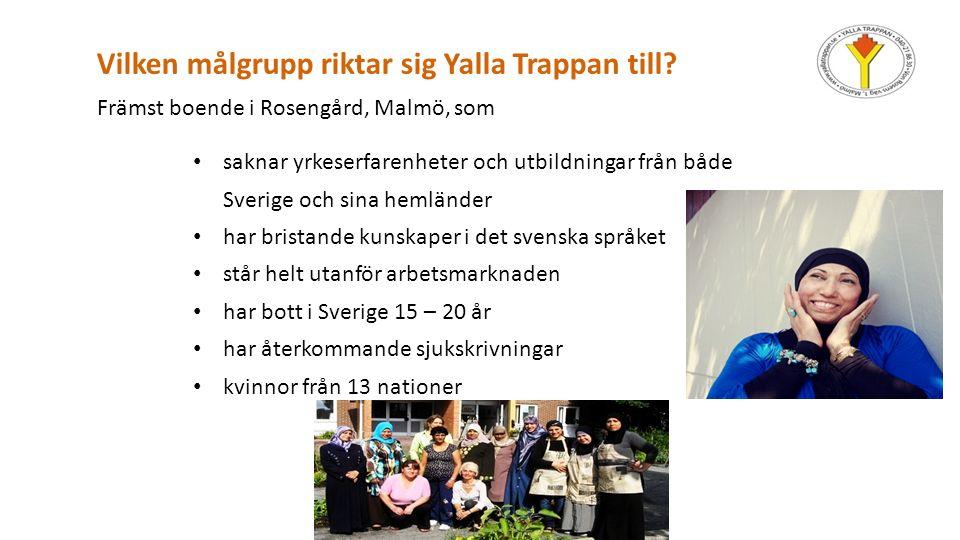 Verksamheter YALLA TRAPPAN Kafé, catering, lunch Syateljé Städ- och konferensservice Studiebesök Utbildning Projekt Marmelader Guidade turer Försäljning; böcker etc.