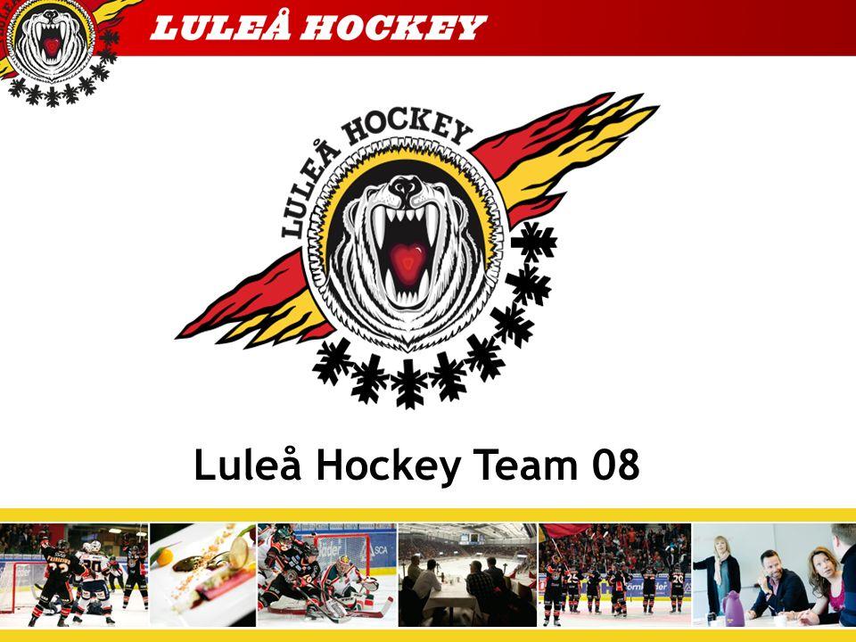 Luleå Hockey Unga Utvecklingsgruppen Ulf, Helge och J-Tränare Ungdomsansvarig Helge Lauritsen