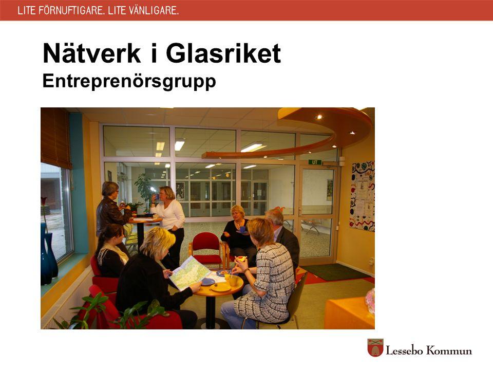 Nätverk i Glasriket Entreprenörsgrupp