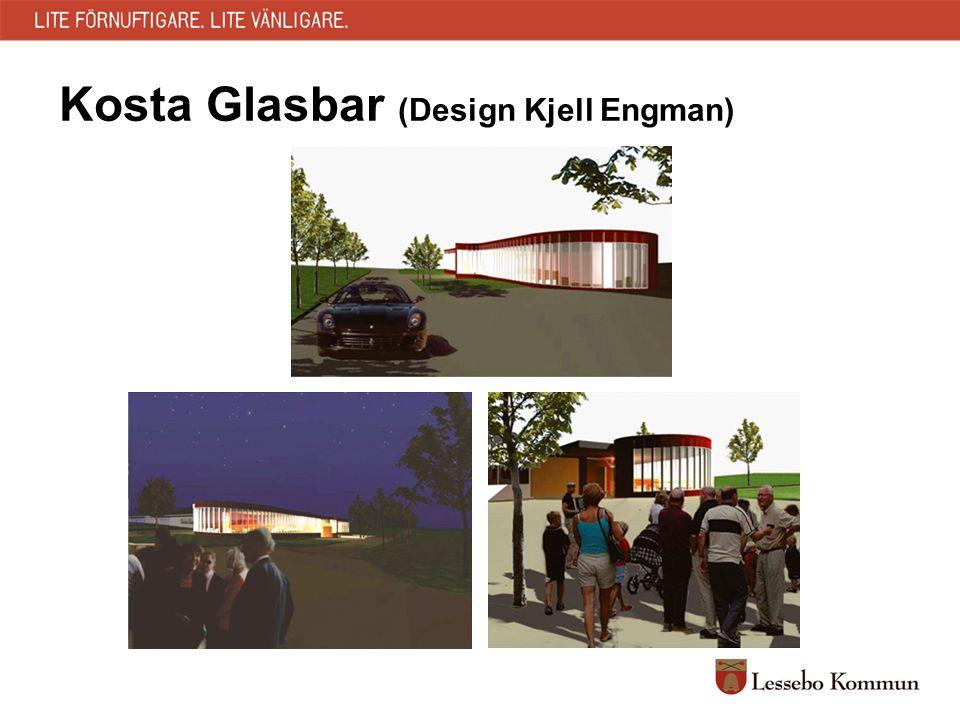 Kosta Glasbar (Design Kjell Engman)