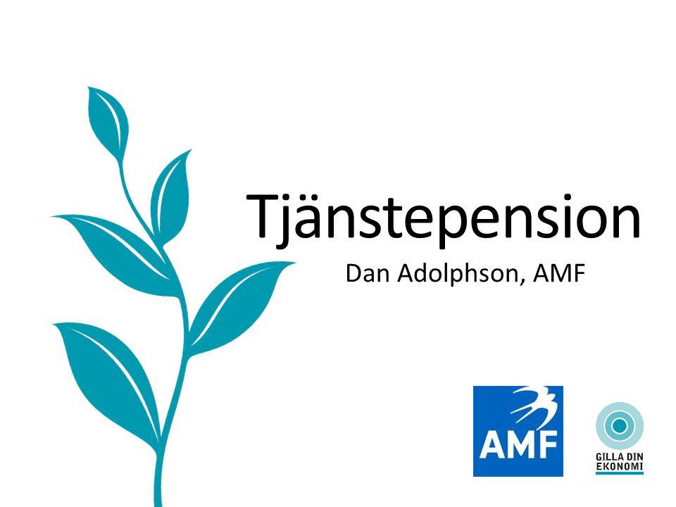 Tjänstepension Dan Adolphson, AMF