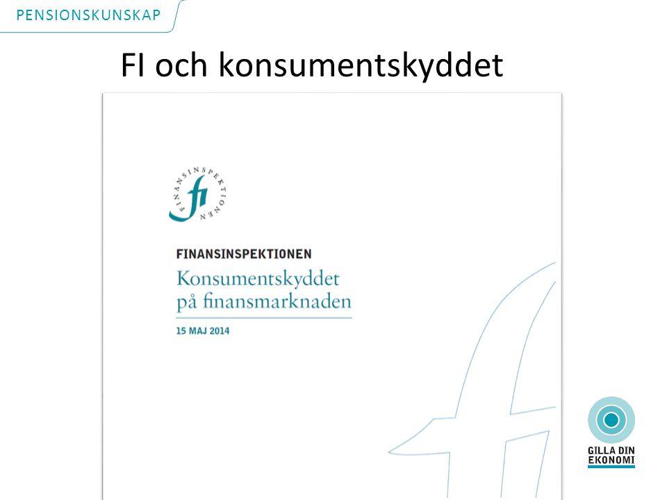 FI och konsumentskyddet