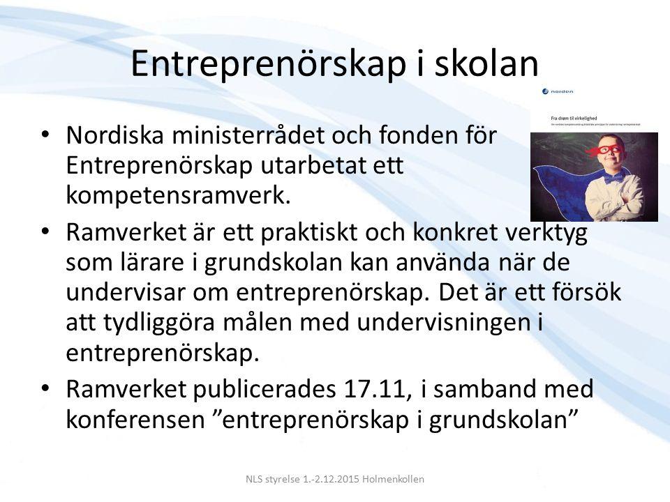 Export av nordiska utbildningar Seminarium 13.11 Et stærkere regionalt samarbejde vil kunne styrke de nordiske landes evne til at udvikle vores uddannelsesprodukter, så de kan konkurrere på det hårde internationale marked.
