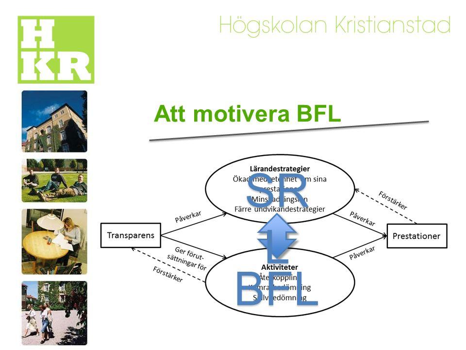 Att implementera BFL Pseudo-formativ bedömning typisk för summativ och prestations-orienterad kontext
