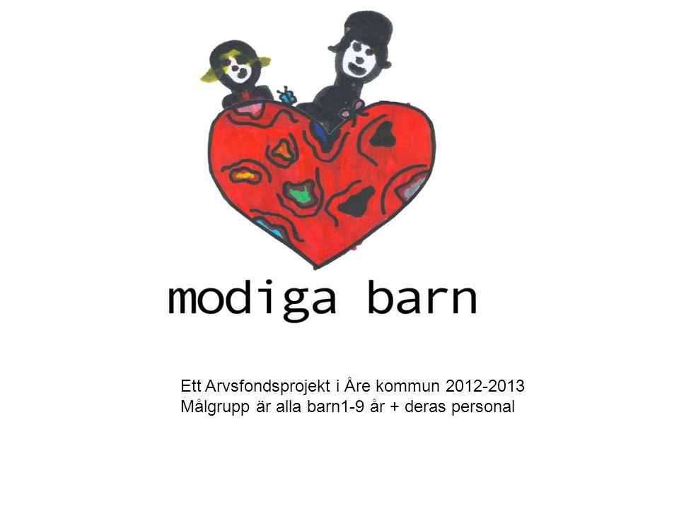 Ett Arvsfondsprojekt i Åre kommun 2012-2013 Målgrupp är alla barn1-9 år + deras personal