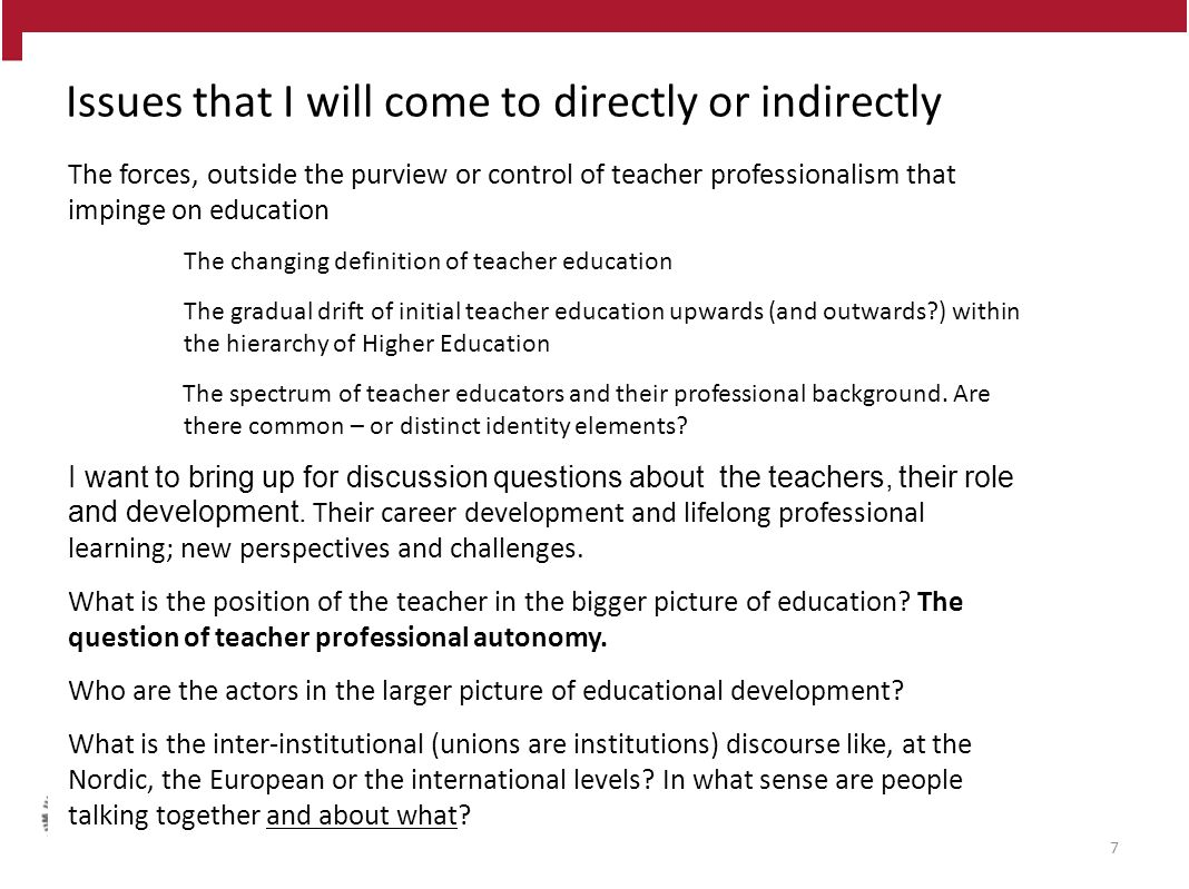 The changing definition of teacher education – or is it?.