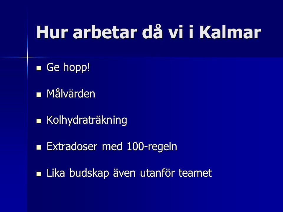 Hur arbetar då vi i Kalmar Ge hopp. Ge hopp.