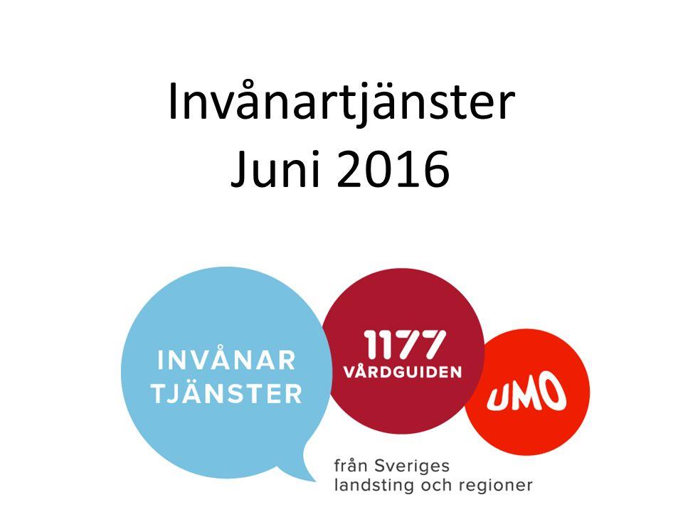 Invånartjänster Juni 2016