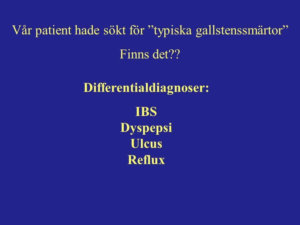 VGR indikationer för op.av gallstenssjukdom ….