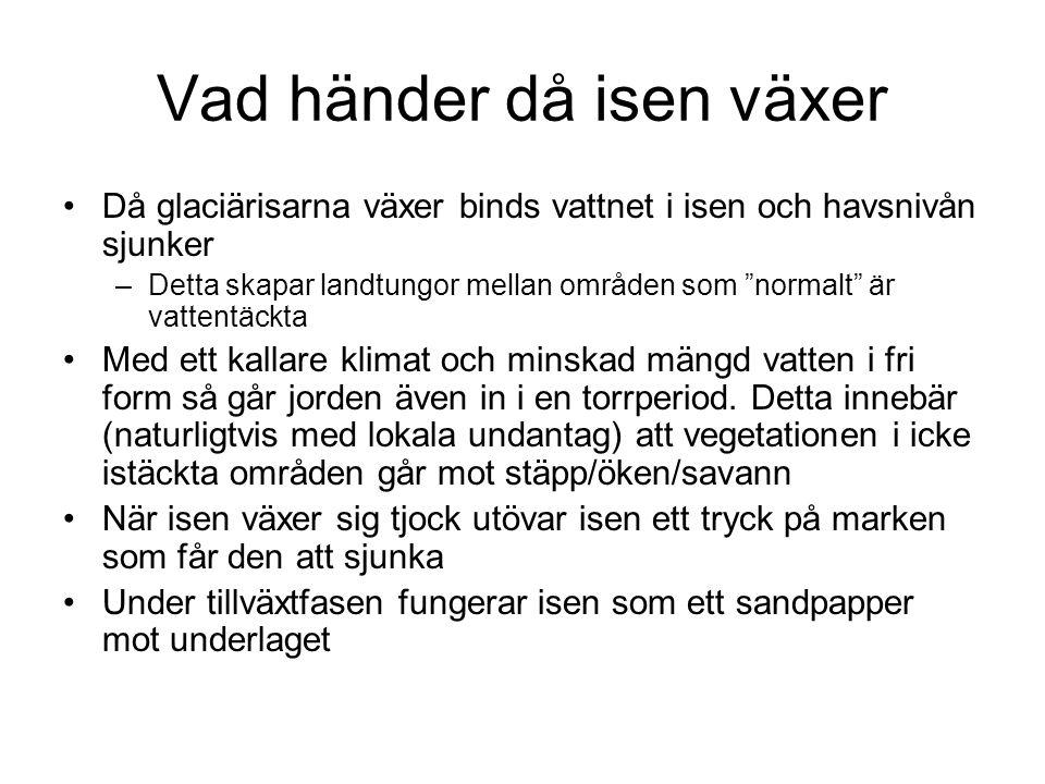 Jordarter Morän Lera Torv Sand …
