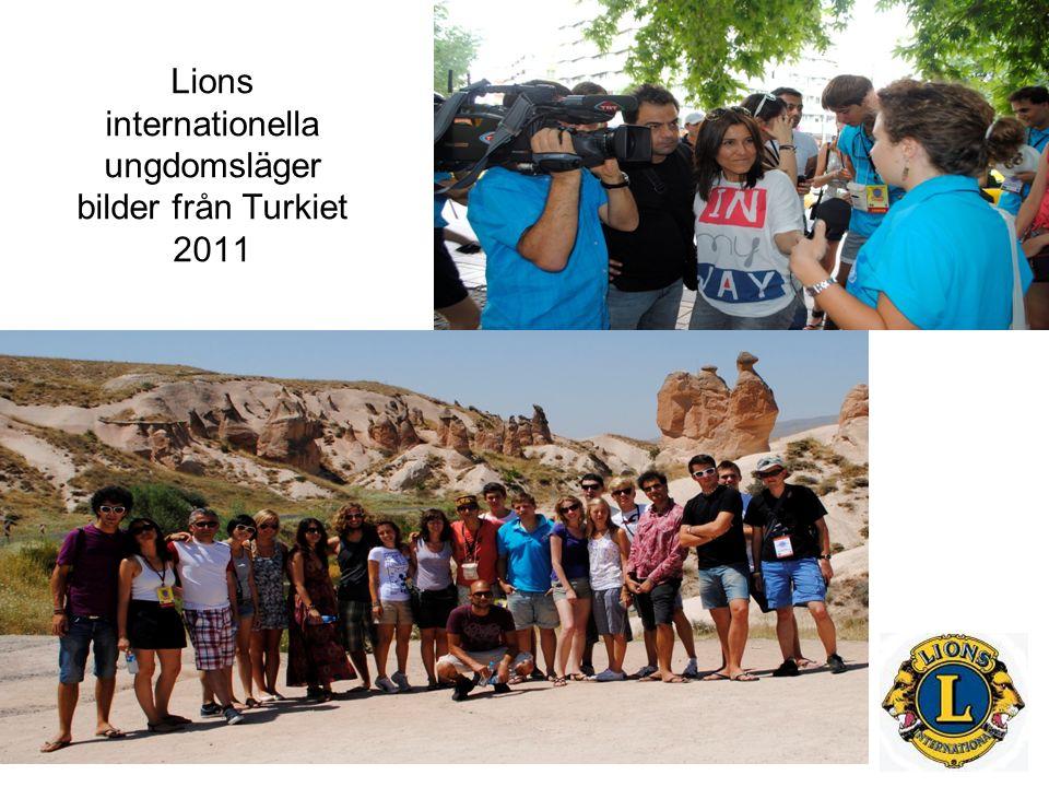 Lions internationella ungdomsläger bilder från Turkiet 2011