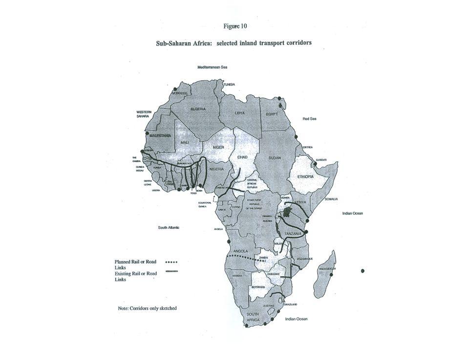 20 största containerhamnarna i Afrika, 2004