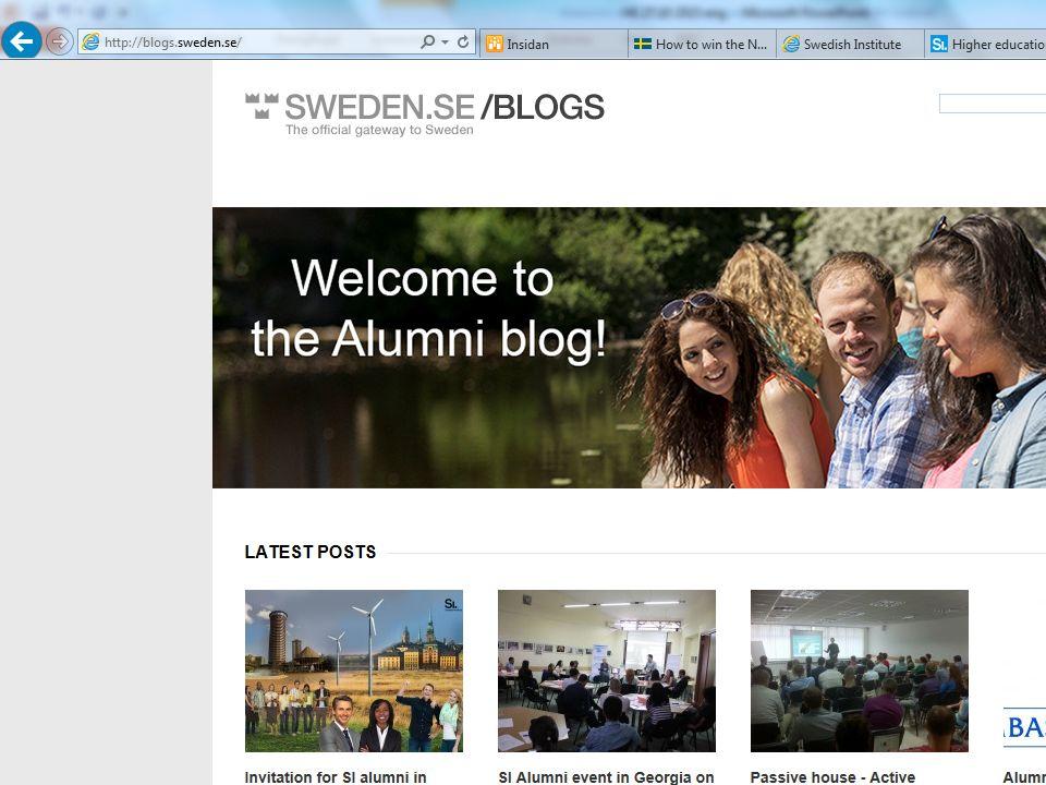 Sweden Goodwill Ambassadors Alumnerna – en resurs för Sverige, svenskt näringsliv och samarbetsparter. 10 800 alumner från 140 länder. De största: Rys