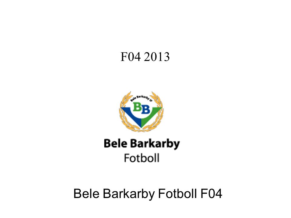 F04 2013 Bele Barkarby Fotboll F04