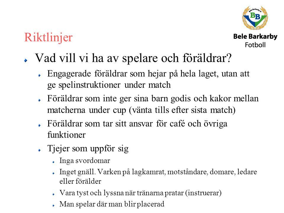 Utvecklingssamtal Under inomhusperioden.