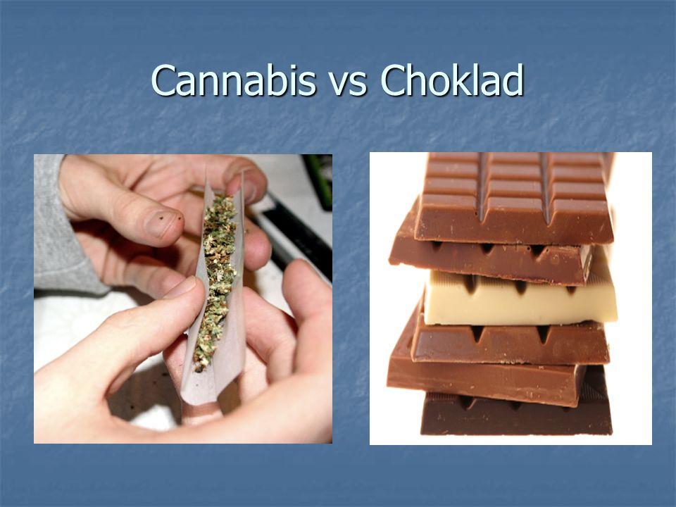 Cannabis vs Choklad