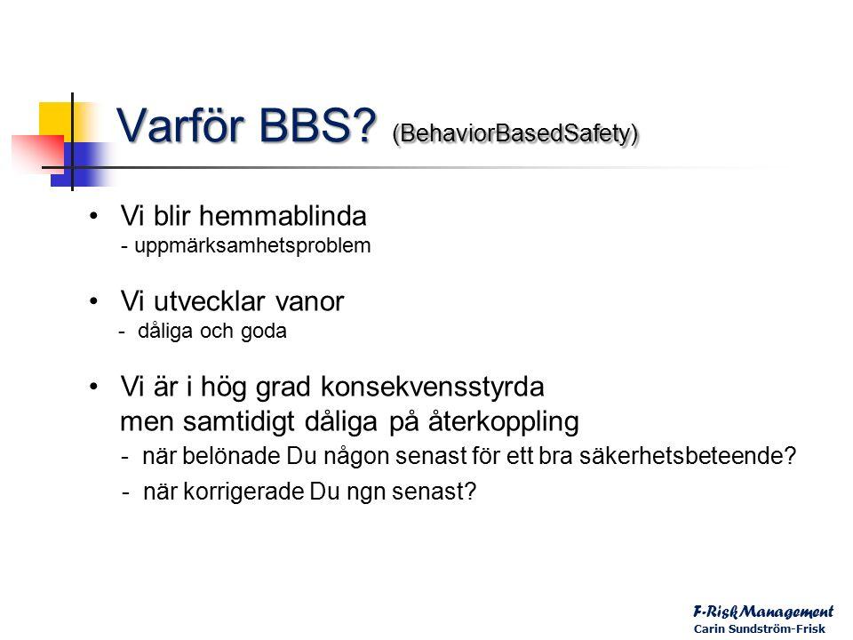 Varför BBS.