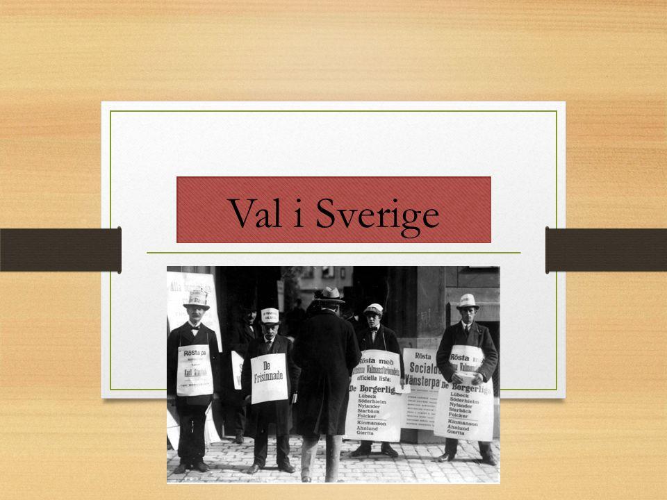 Val i Sverige
