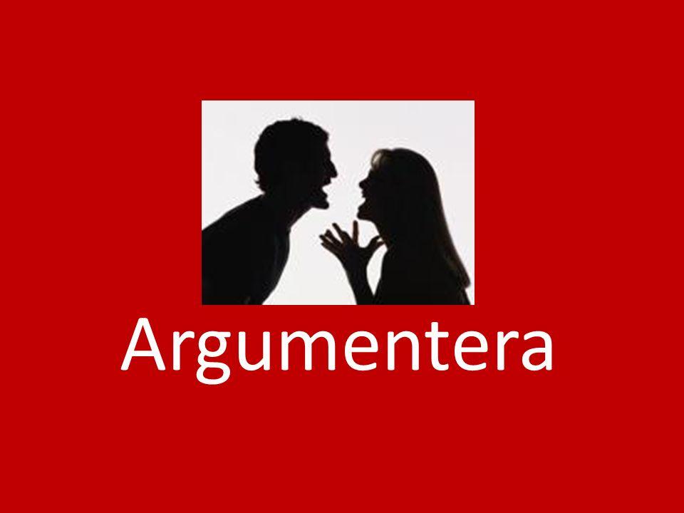 Vad är argumentation.När är det viktigt att kunna argumentera.