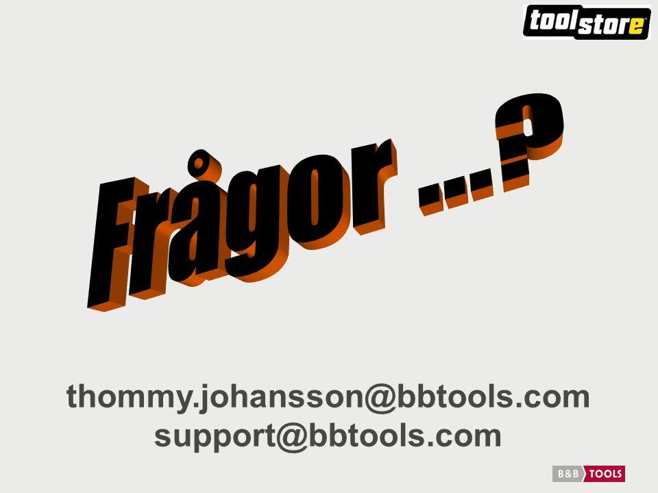thommy.johansson@bbtools.com support@bbtools.com